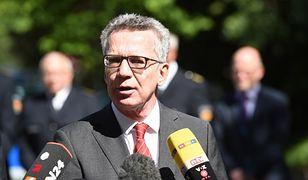Szef niemieckiego MSW: przyczyną wzrostu popularności prawicy nie jest kryzys uchodźczy