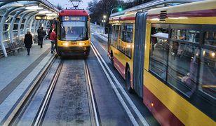 Weekend bez tramwajów w kierunku pl. Wileńskiego