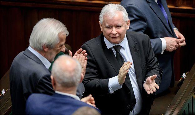 Ryszard Terlecki i Jarosław Kaczyński