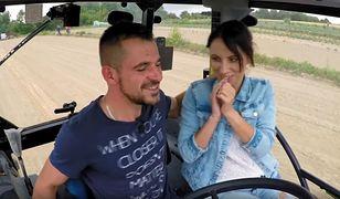 """""""Rolnik szuka żony"""": Adrian zbliżył się ostatnio do Agaty"""
