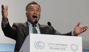 Arnold Schwarzenegger na szczycie klimatycznym w Katowicach