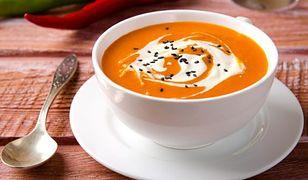 Prozdrowotna zupa z dyni