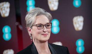 Plakaty z zasłoniętymi oczami Meryl Streep. Artysta komentuje aferę Weinsteina