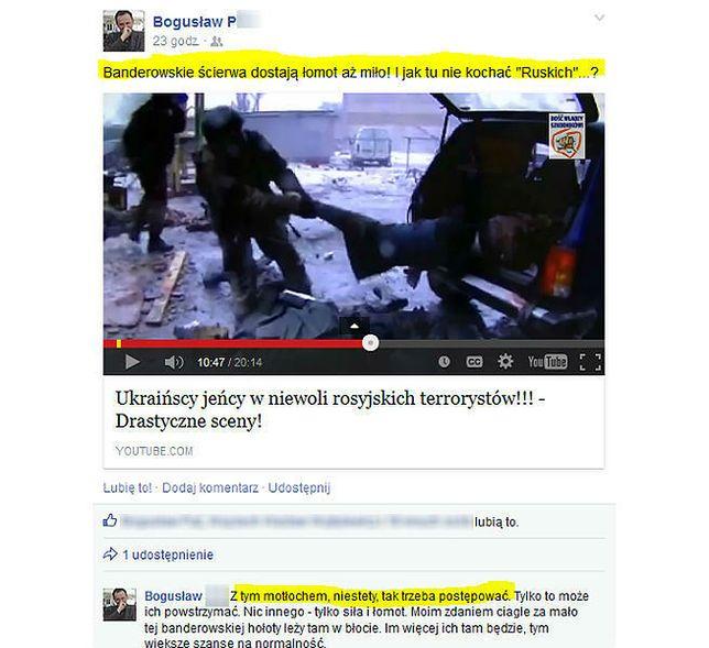Prokuratura bada wpis profesora z Wrocławia ws. traktowania ukraińskich jeńców