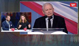 """#Newsroom. Jarosław Kaczyński o """"planie Rabieja"""". Joanna Mucha i Radosław Fogiel komentują"""