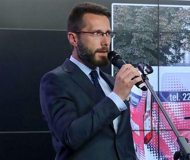 Zastępca rzecznika PiS Radosław Fogiel