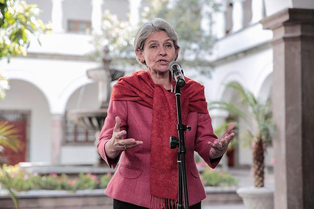 Dyrektor generalna UNESCO Irina Bokowa