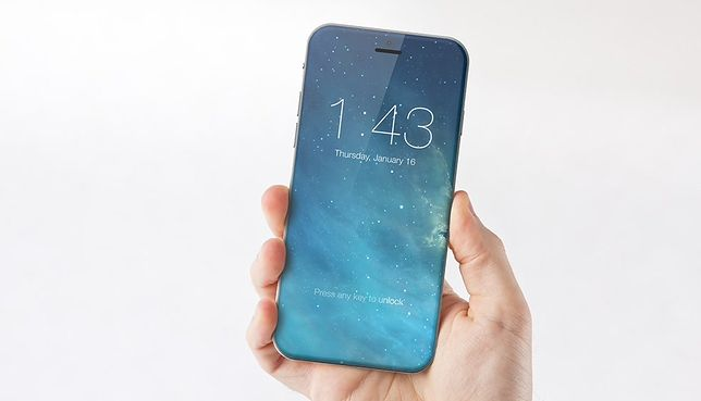 iPhone 8 będzie telefonem bez ramek, jednak jest to wątpliwe, by cała przednia część telefonu była jego wyświetlaczem.