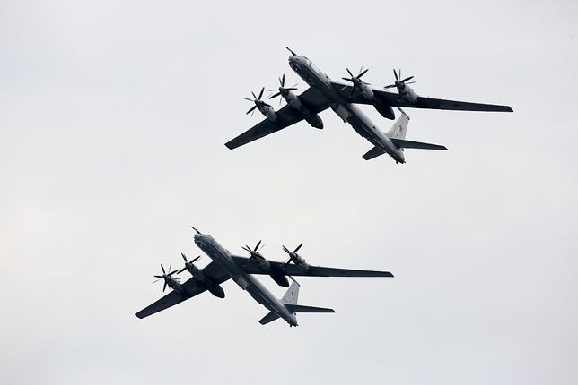 Incydent z rosyjskimi samolotami nad Morzem Północnym