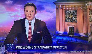 Michał Adamczyk, prowadzący Wiadomości TVP