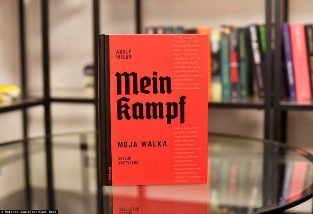 """""""Mein Kampf"""" zostało wydane po polsku. Decyzja wywołała oburzenie"""