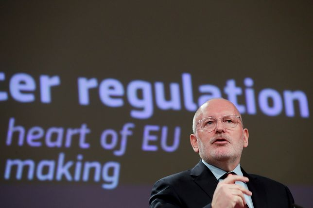 Frans Timmermans jest kandydatem europejskiej lewicy na nowego szefa KE