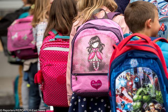 Z raportu NIK z 2017 r. wynika, że niemal połowa plecaków i tornistrów przekraczała zalecany ciężar, czyli 10 proc. masy ciała dziecka