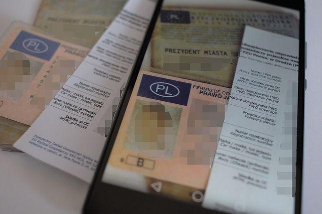 Usługa mDokumentów sprawi, że kierowca mający przy sobie telefon uniknie mandatu, jeśli zapomni zabrać prawo jazdy