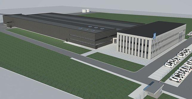 Tak będzie wyglądała nowa fabryka ZF w Częstochowie