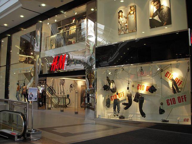 Szwedzka sieciówka H&M zmieni rozmiary ubrań w Wielkiej Brytanii
