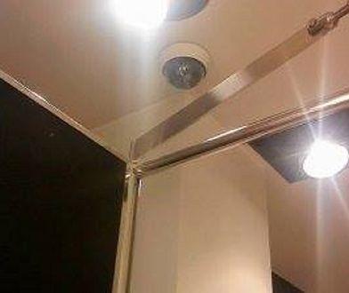 Kamera była zainstalowana w środku przymierzalni