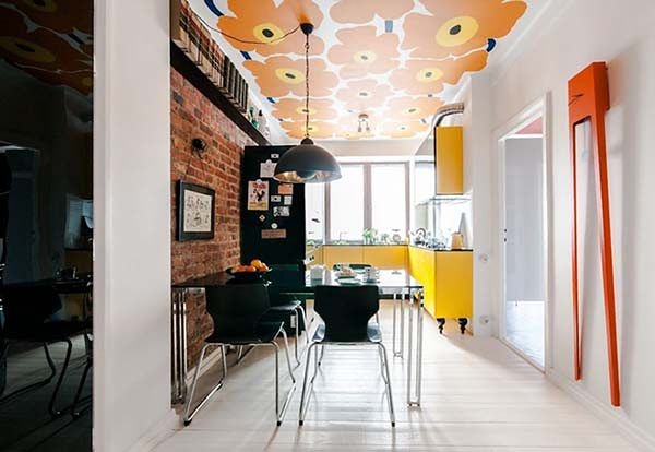 Kolorowe mieszkanie - tu rządzi vintage