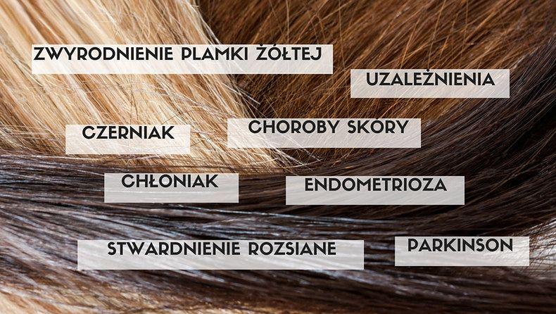 Kolor włosów, a zdrowie