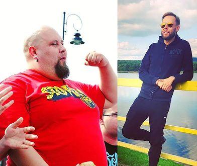 Schudł ponad 140 kilogramów. Za sukcesem kryje się jednak trudny temat: pokazał brzuch