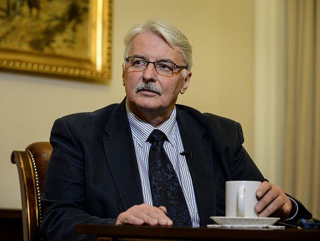 Politycy PO i PSL krytykują wypowiedzi Witolda Waszczykowskiego