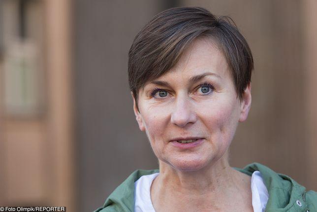 """Ewa Miastkowska ze stowarzyszenia """"My, rodzice"""""""