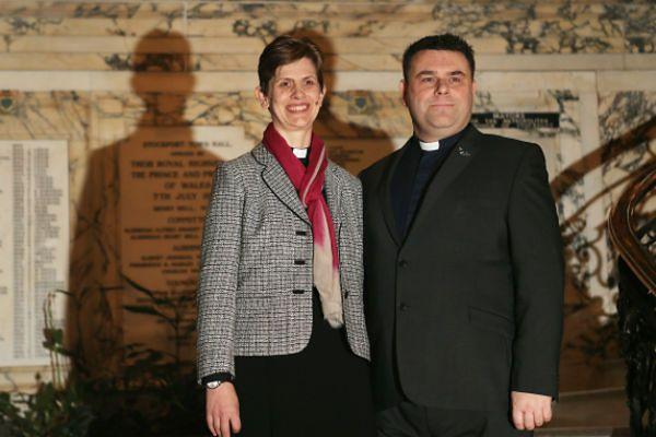 Libby Lane z mężem