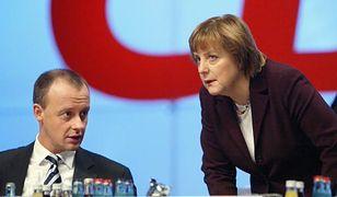 """Stary """"przyjaciel"""" wyrównuje rachunki z Merkel. Merz może zniweczyć jej plan spokojnego odejścia"""