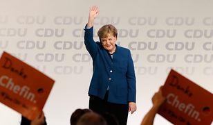 Merkel żegna się z partią. Dostała 10-minutową owację na stojąco