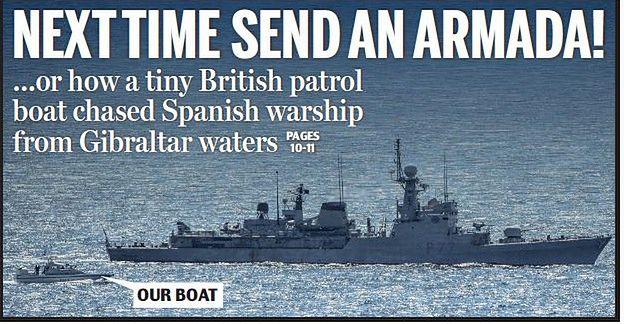 Fragment okładki Daily Mail