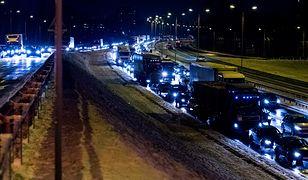 Armagedon na południu Polski. Dziesiątki wypadków, gigantyczne korki