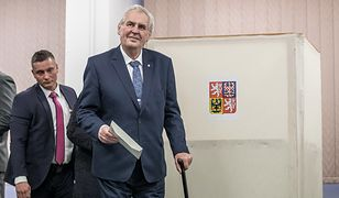 Wybory prezydenckie w Czechach: Zeman wygrywa pierwszą rundę
