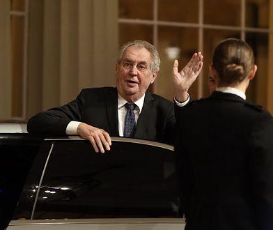 Prezydent Czech wspiera Rosjan? W co gra Zeman?