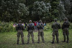 Dramatyczna sytuacja na granicy z Białorusią. Wsparcie wojska