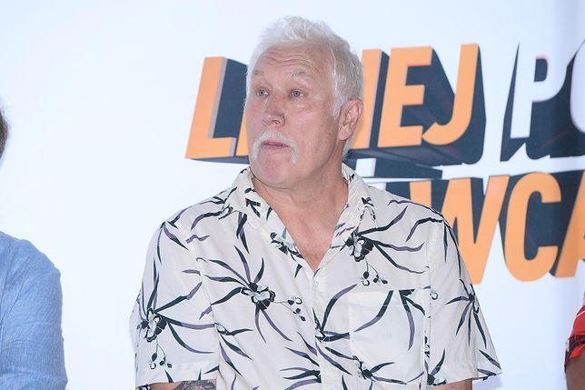 Władysław Kozakiewicz miał wypadek na planie reality-show. Odłamał się mu kawałek kości w kolanie