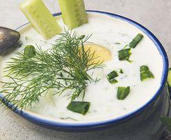 Przepis na chłodnik ogórkowy. Idealna zupa na lato