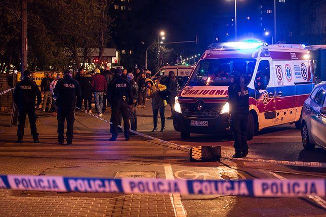 Atak nożownika w Warszawie. Są dwie ofiary