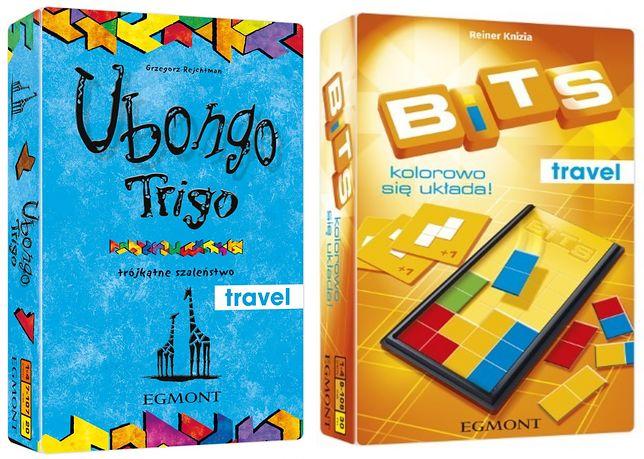 Ubongo Trigo i Bits to świetne gry kieszonkowe dla całej rodziny