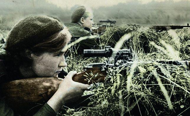 Najbardziej mordercze kobiety II wojny światowej. Żołnierki, które kładły trupem dziesiątki i setki wrogów