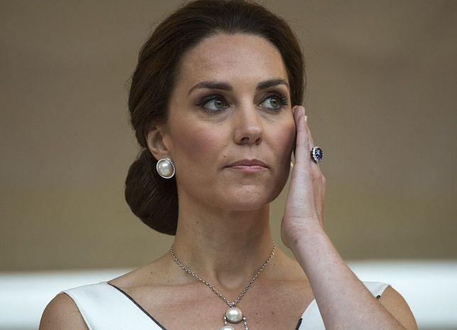 Księżna Kate podczas wizyty w Warszawie
