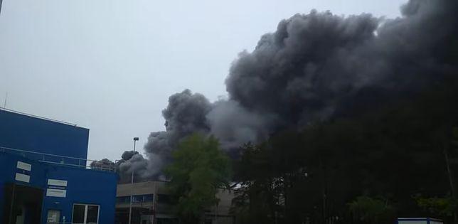 W sobotę wybuchł pożar na terenie elektrowni w Bełchatowie