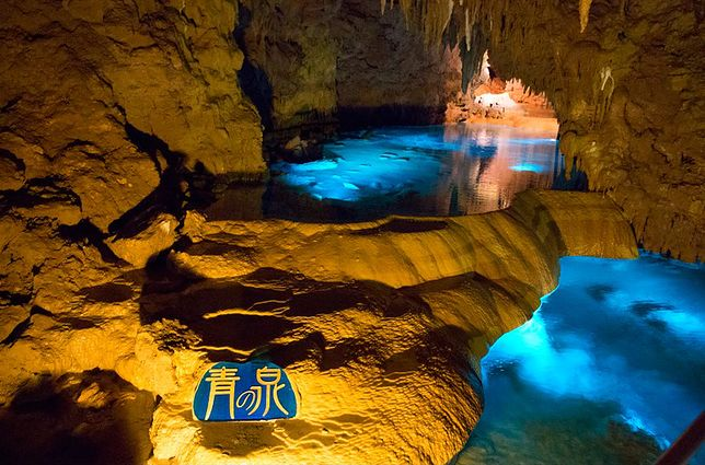 Okinawa - podziemne jaskinie