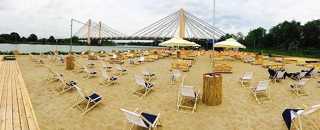 Największa plaża miejska w kraju powstała we Wrocławiu