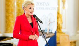 Agata Kornhauser-Duda z apelem. Pierwsza dama prosi rodaków o pomoc