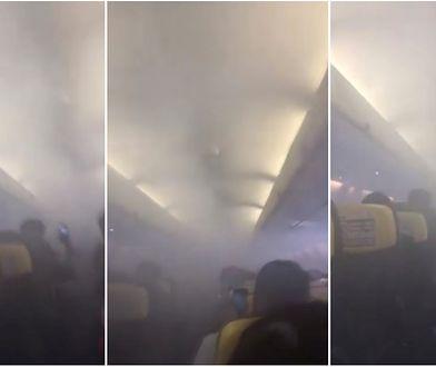 Ryanair musiał awaryjnie lądować. Cały pokład wypełnił się dymem