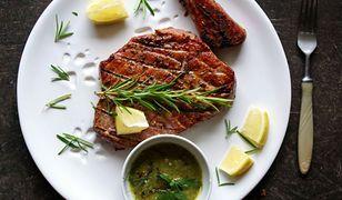 Grillowany stek z tuńczyka