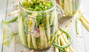 Sałatka z fasoli szparagowej do słoików