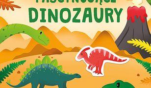 Ozdabiam naklejkami. Fascynujące dinozaury