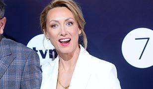 Anna Kalczyńska na wiosennej ramówce stacji TVN.