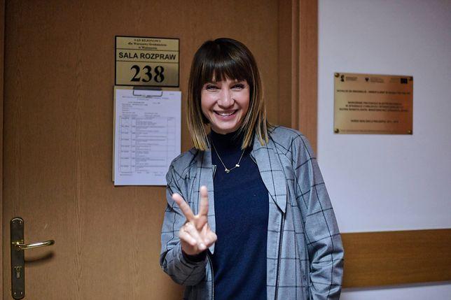 Grażyna Wolszczak pozwała Skarb Państwa za zanieczyszczone powietrze.